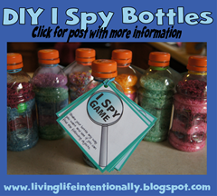 road trip game s- i spy bottles