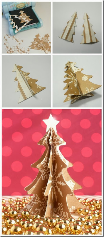 cafe creativo - sizzix big shot - christmas tree - holiday (4)