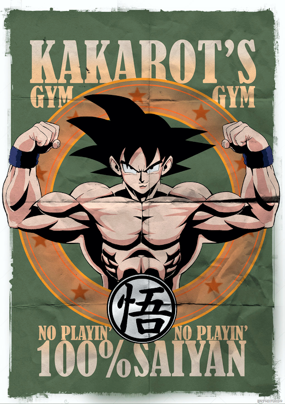 Gimnasio de Goku Kakarotto