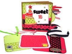 Sweet 16 Scrapbook 7