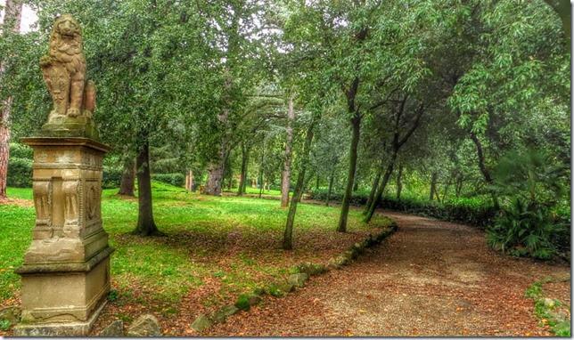 Giardino stibbert a firenze by josie furighedda gardening - Viali da giardino ...