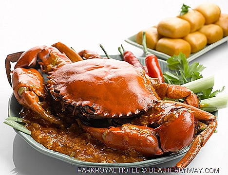 CRAB BUFFET FEAST PARKROYAL BEACH ROAD JAPANESE LOCAL HAWKER Nonya Curry Crab, X.O. sauce Crab, Butter Stirred Fried Crab Egg Yolk, Thai Green Curry Mud Crab Sichuan StyleFlower Crabs Chilli Crab Black Pepper Soft shell crab dim sum
