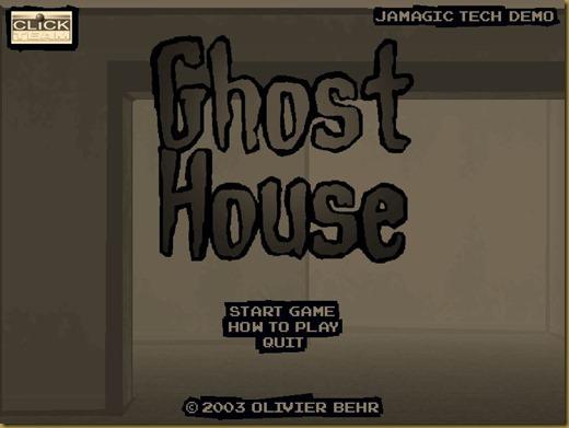 GhostHouseタイトル