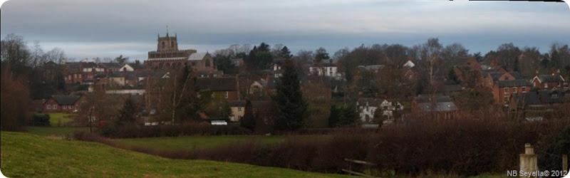 pano Audlem village