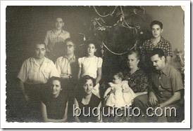 familia de sabana 1949