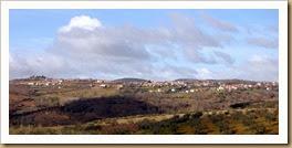 Vista da aldeia