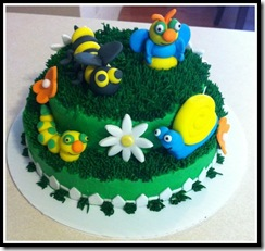 Bug Cake with border