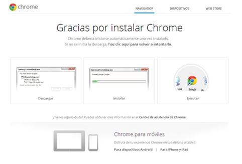 Novedades y cambios de Chrome 31