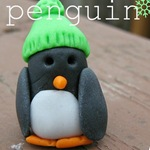 Megan - fondant penguin