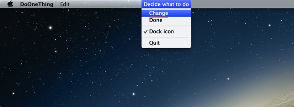 Mac app productivity doonething1