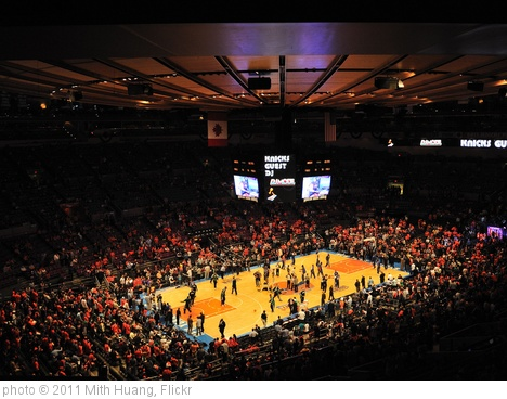 'Knicks 2011 playoff game 4 (last playoff game)' photo (c) 2011, Mith Huang - license: http://creativecommons.org/licenses/by/2.0/