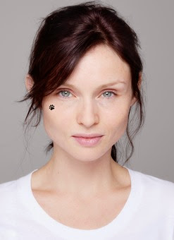 Strictly embargoed until 31.10.14 – Sophie Ellis Bextor takes part in BBC Children in Need's annual BearFaced campaign