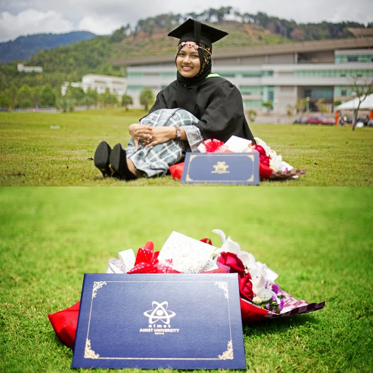 graduation photoshoot biotechnology AIMST