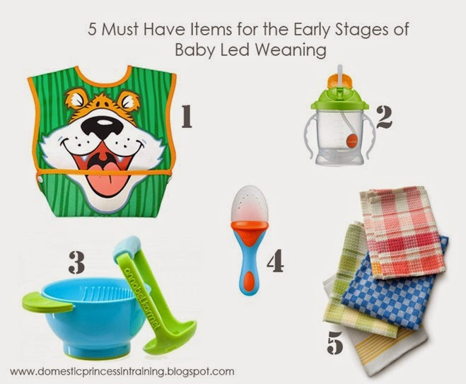 Must Have Baby Led Weaning Items