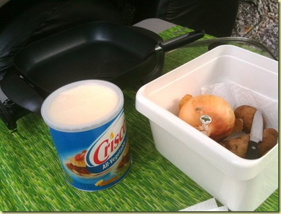 potato fixins