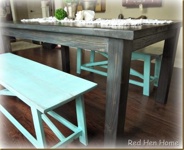 Kim's Farmhouse Table 002