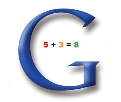 Calculando com o google