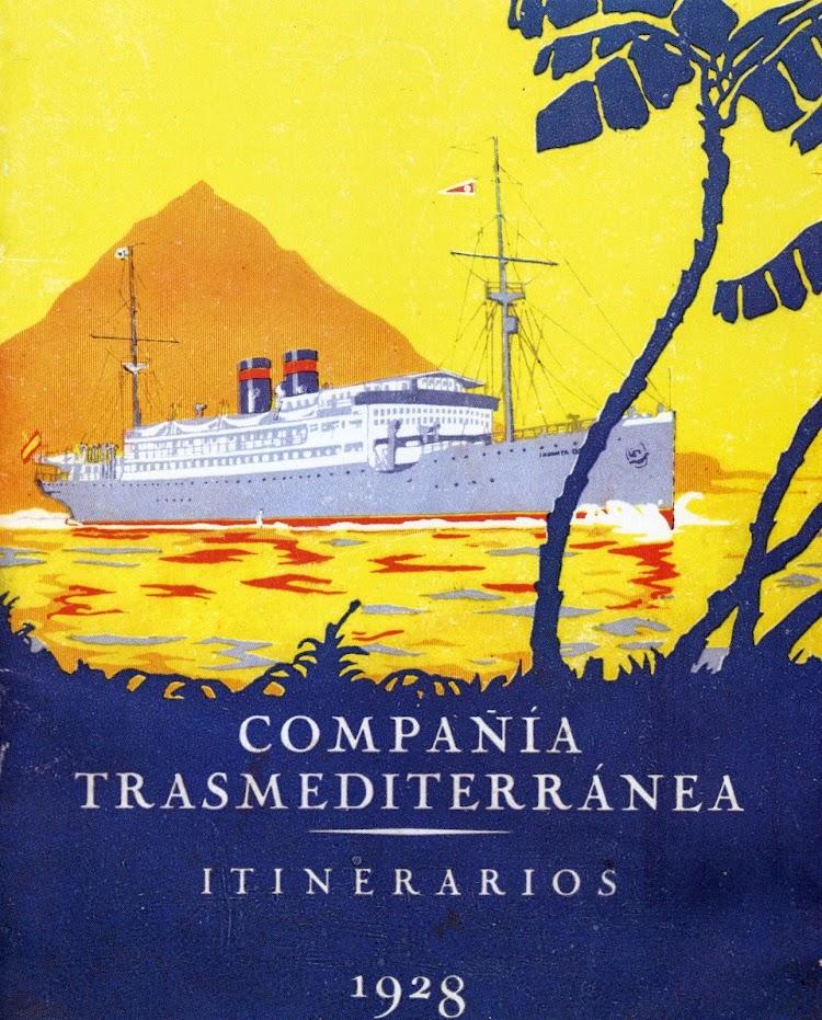 Cartel publicitario de los servicios de la Compañía. Año 1.928. Del libro Todo Avante.jpg