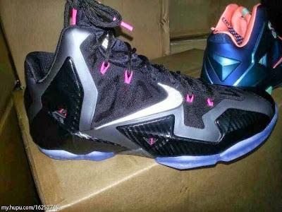 nike lebron 11 gr carbon fiber pink 1 01 Nike LeBron XI   Carbon Fiber & Pink   Release Date