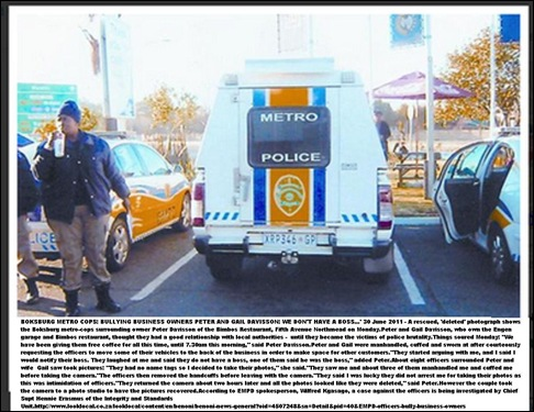 DAVISSON PETER 3_BOKSBURG_METROCOP_BULLIES_june272011