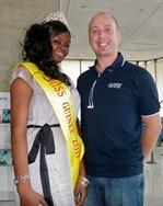 Encontro imediato de terceiro grau com a Miss Guiné 2011.