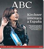 Cristina amenaza a España.