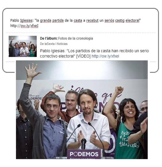 FN eleccions europèas 2014 LaSexta Podemos