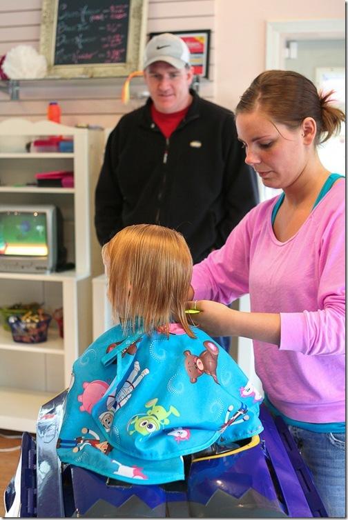 Sara's first haircut-9 blog