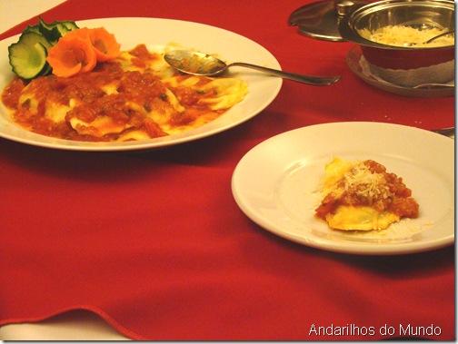 Tortei Rodizio de Massas Noite Italiana Hotel Bella Italia BlogTurFoz Foz do Iguaçu