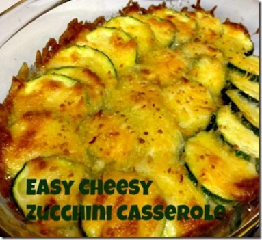 Spoonful at a Time: Easy Cheesy Zucchini Casserole