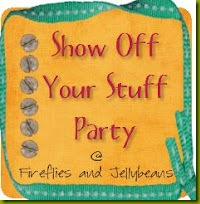 Show off your Stuff party button