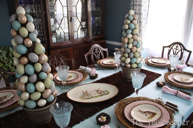 Rustic Rabbits Easter Tablescape - The Tablescaper07
