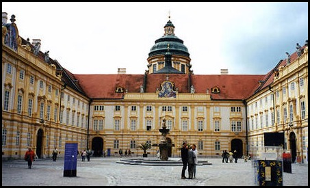 Bibliothèque du monastère de Melk, Melk, Autriche