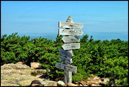 04a - North Ridge Trail - Sign