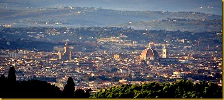 Firenze Vista da fiesole - Di Giorno