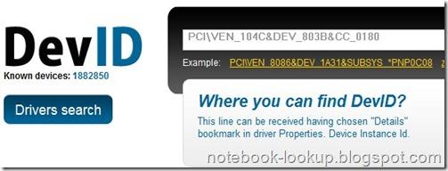 Devid.info เว็บช่วยค้นหาไฟล์ไดรเวอร์แบบออนไลน์แบบง่ายๆ