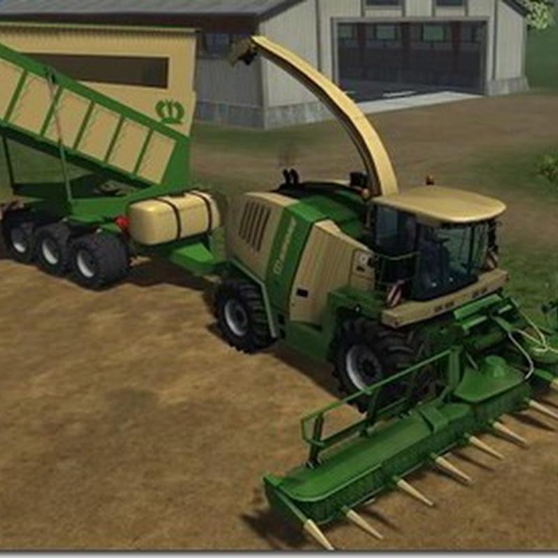 Farming simulator 2011 - Krone Bunker Shuttle (foraggio)