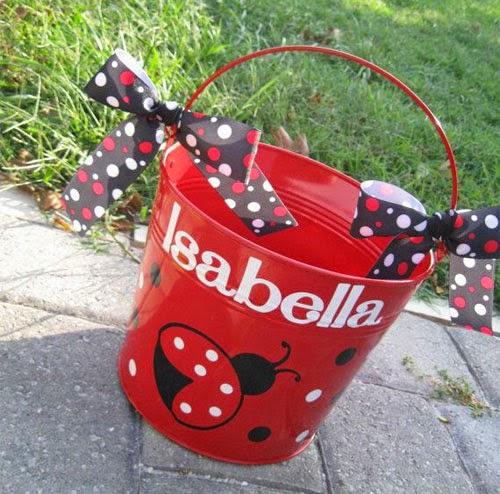 Inspiração: joaninha - lata decorativa