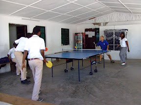 Staff v Students Table Tennis
