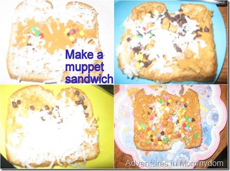 Muppet Sandwich