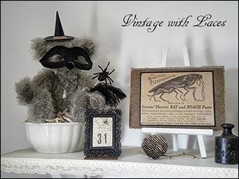 Halloween Bear Vignette
