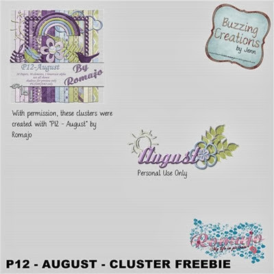 Romajo - P12 August - Freebie Preview