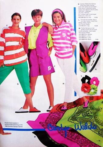 Sears ad 90's - paisley bandanas