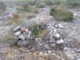 Stone monuments near Dempo campsite (Daniel Quinn, October 2011)