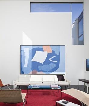 decoracion-interior-cuadro-azul