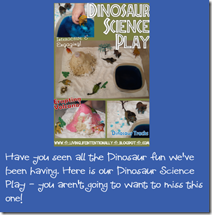 Dinosaru Science Play Homeschool Preschool