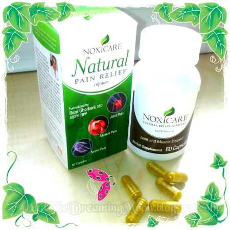 Noxicare Natural Pain Relief Capsules