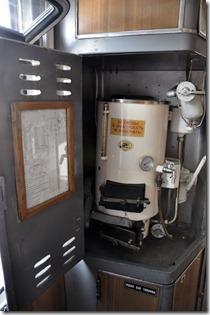 020-fourniture d'eau chaude dans le wagon