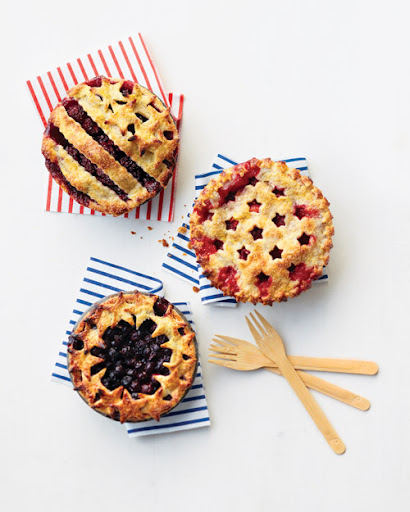 What could be more patriotic than stars and stripes pies! <http://www.marthastewart.com/284359/fourth-of-july-summer-berry-pies>