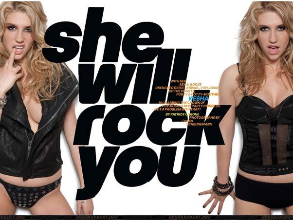 Kesha ensaio sensual para Revista Maxim